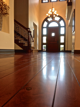 Richard Marshall, Maple, Hardwood Floor, Refinishing, San Clemente