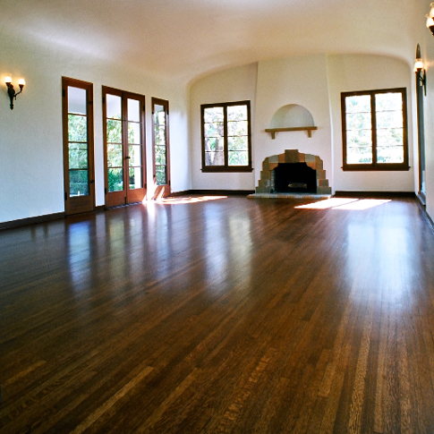 Historic hardwood floor refinishing repairs tustin for Adobe floor